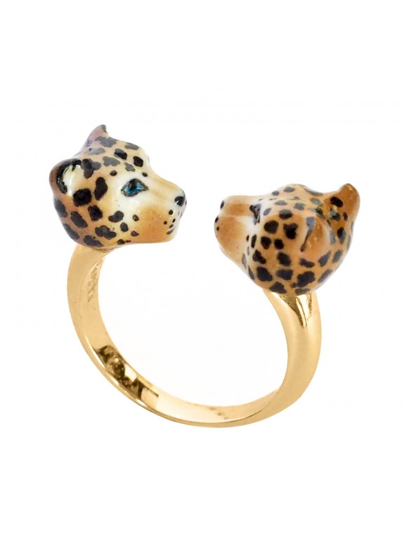 Double Leopard ring