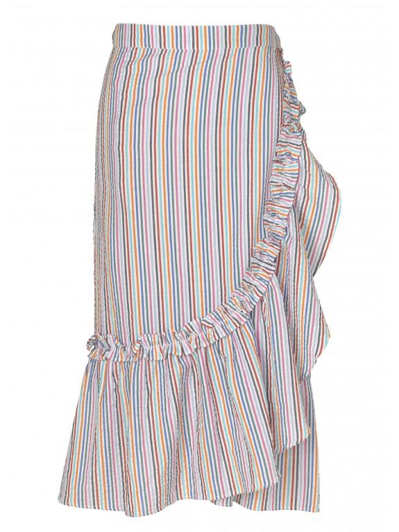 Falda Pareo Striped