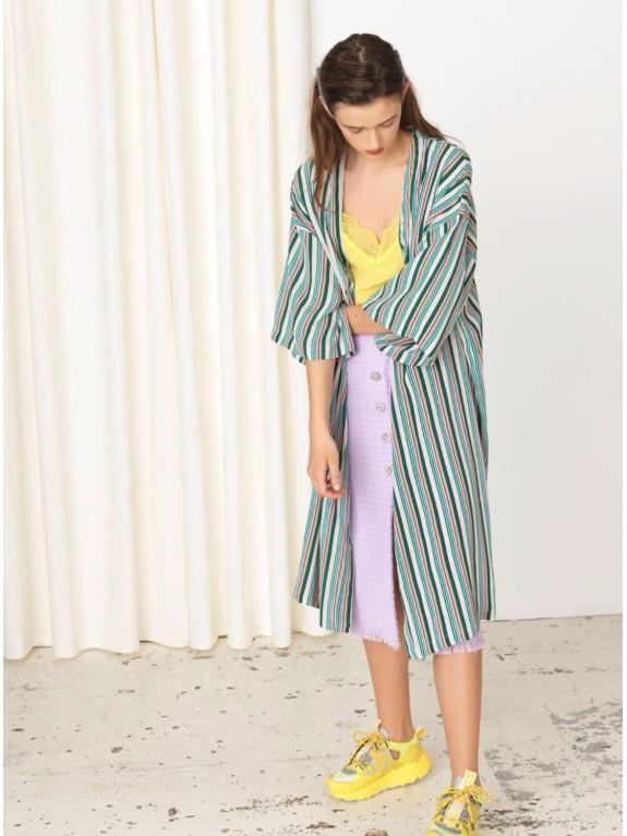 Vestido Kimono Stria
