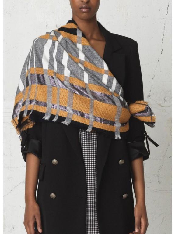 Silje mustard scarf