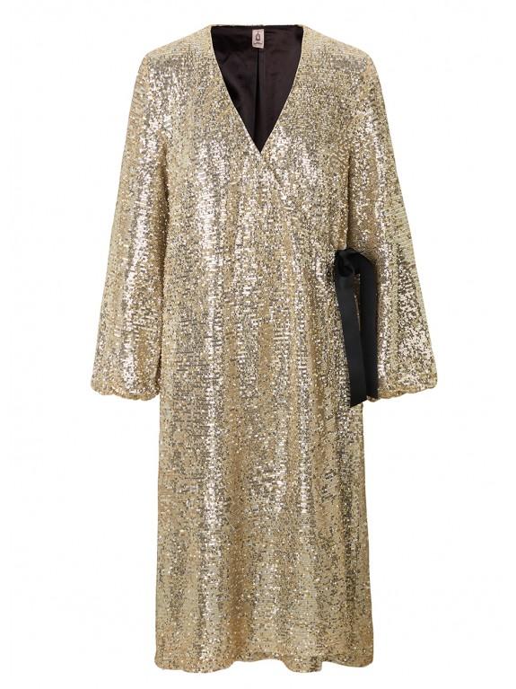 Vestido Everlee oro
