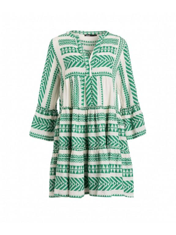 Vestido Zakar verde