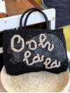 Ooh la la small bag black and natural