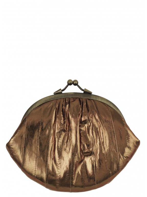 Bolso Granny Chocolate Gold