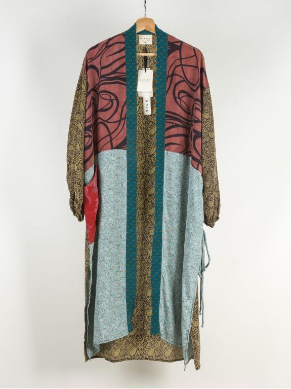Kimono Morning Glory Silk Nº 3