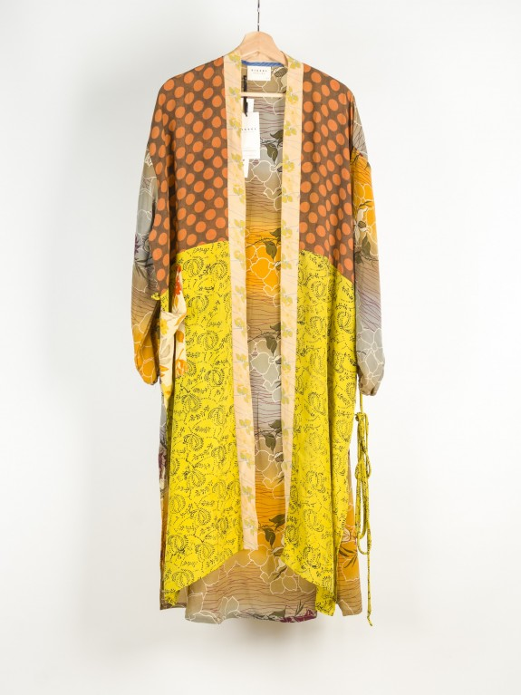 Kimono Morning Glory Silk Nº 6