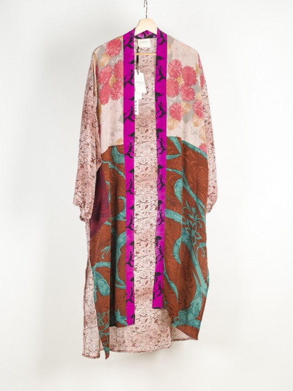 Kimono Morning Glory Silk Nº 9