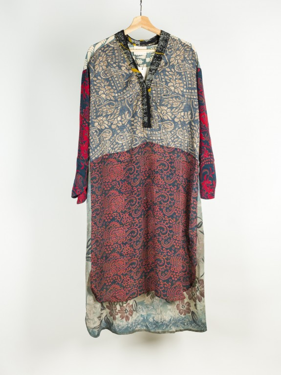 Caftan Dress  Fleur de Lis Nº 17