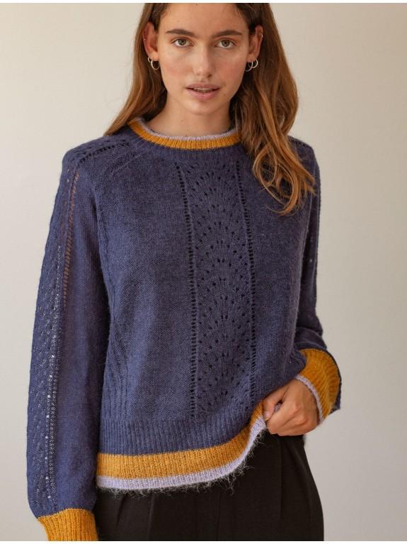 Gracinia sweater blue night