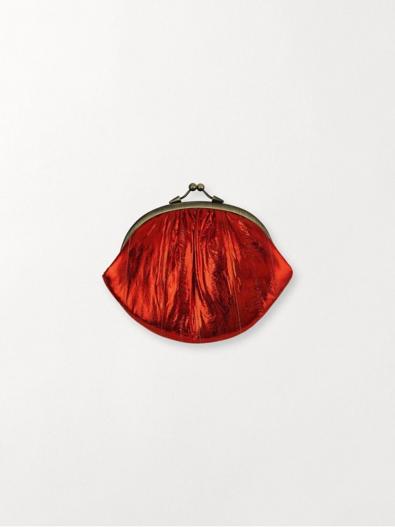 Cartera Granny Red Metallic