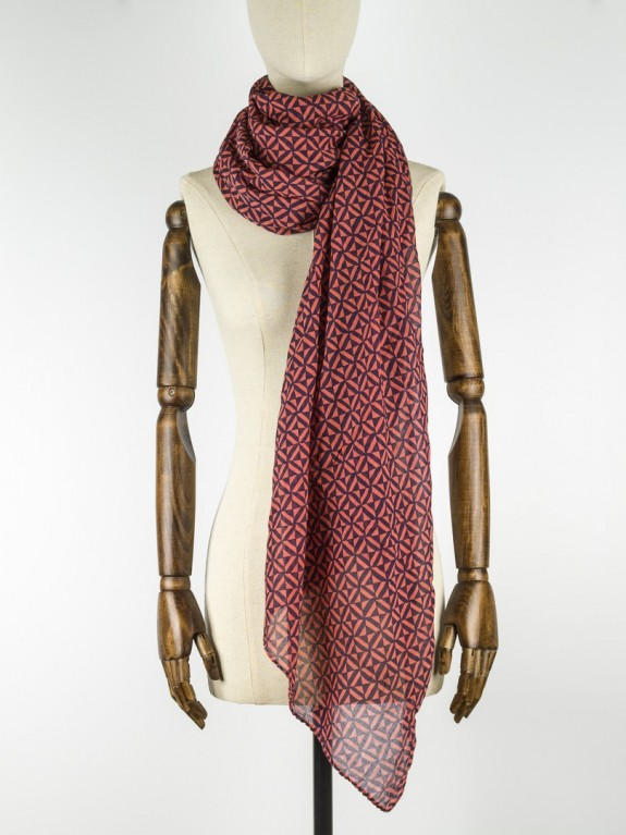 Foulard Dawn Spiced Coral