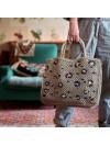 Bolso Leopard khaki pequeño