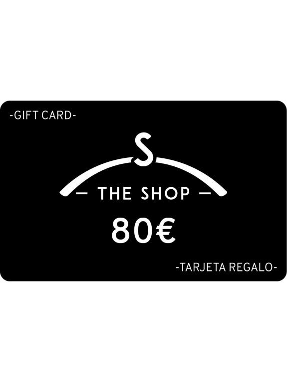 Tarjeta Regalo 80 euros