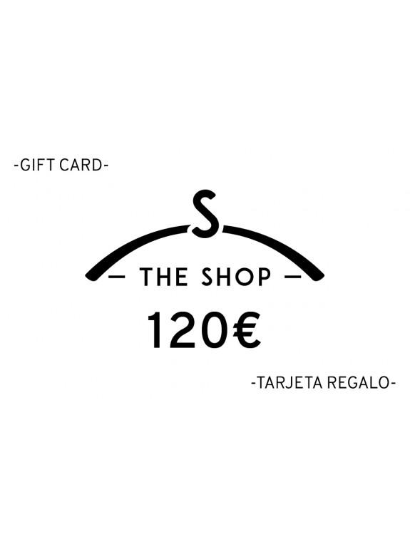 e-Tarjeta Regalo 120 euros