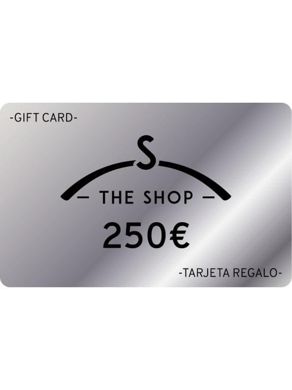 e-Tarjeta Regalo 250 euros