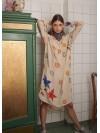 Caftan Dress  Fleur de Lis Nº 1