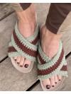 Yvonne Crochet Sandal