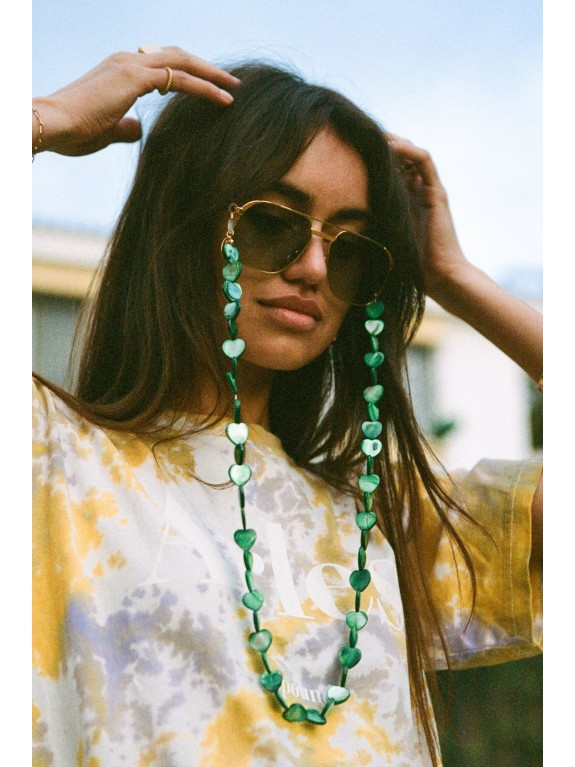 Holy Hearts glasses chain