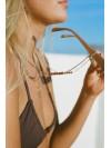 Cadena para gafas Berry Brown