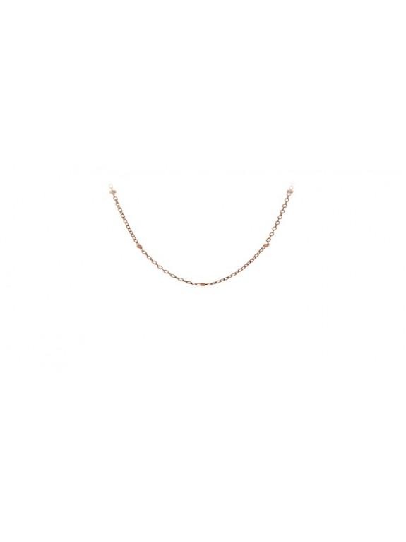 Collar Oro Rosa Saturn