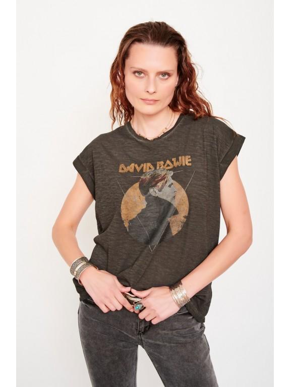 Camiseta Torini Bowie negra