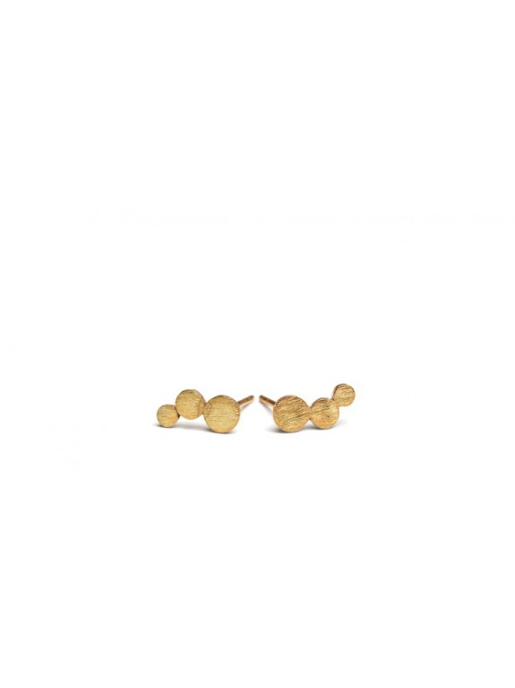 Pendientes Oro Small Multi Coin Stick