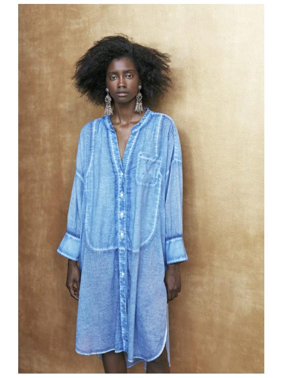 Camisa Nour oversize vaquera