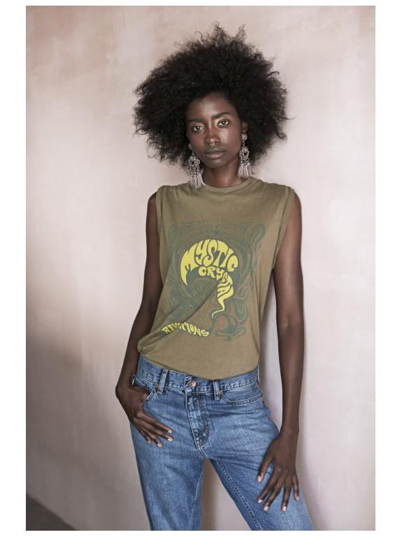 Camiseta Suri amarillo combo