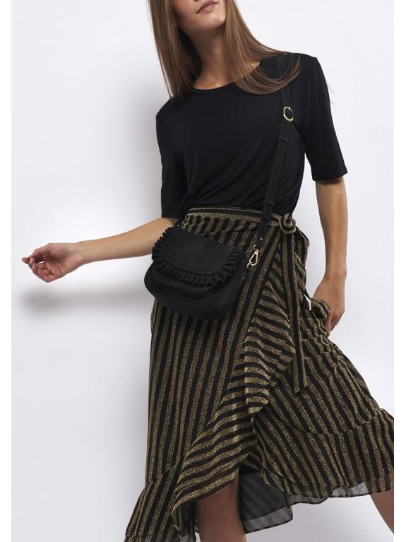 Gold Glitz pareo skirt